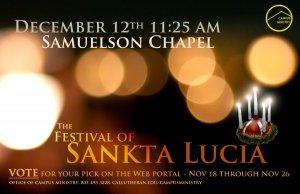 Festival of Sankta Lucia