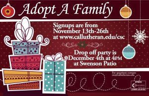 Adopt-a-Family Sign-Ups