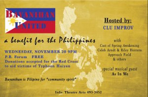 Bayanihan United: A Benefit for the Philippines