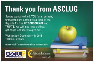 Thank you from ASCLUG