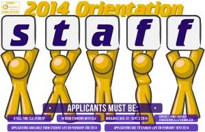 Orientation Staff Application