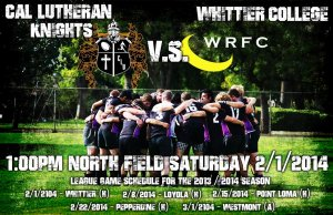 SATURDAY'S A RUGBY DAY!!!