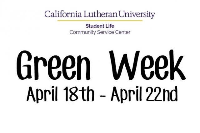 Green Week: Coffee Hour