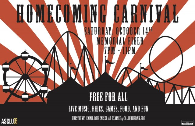 ASCLUG Presents: Homecoming Carnival