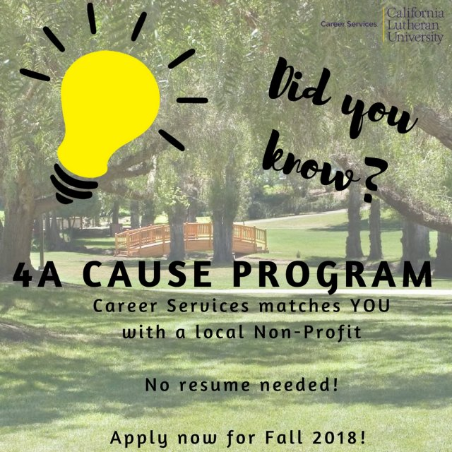 4A Cause Program