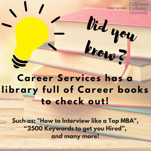 CLU Career Library