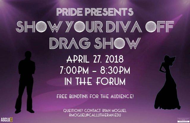 ASCLUG Presents: Show Your Diva Off Drag Show