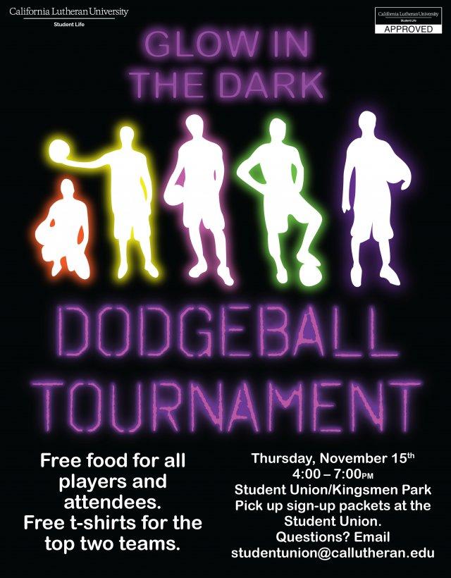 Glow In the Dark Dodgeball Tournament
