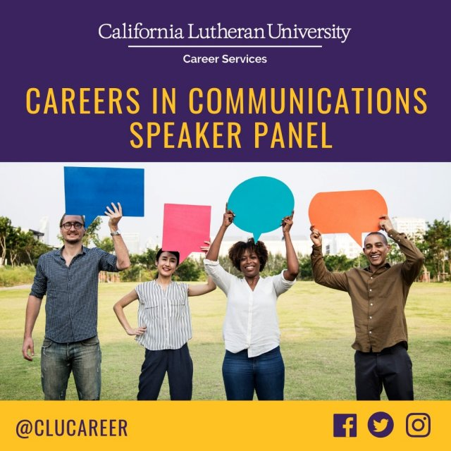 Careers in Communication Speaker Panel