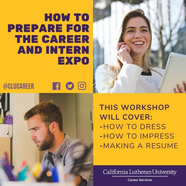 How to Prepare for the Career & Intern Expo