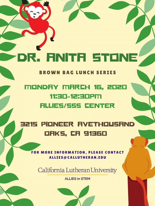Brown Bag Lunch with Dr. Anita Stone