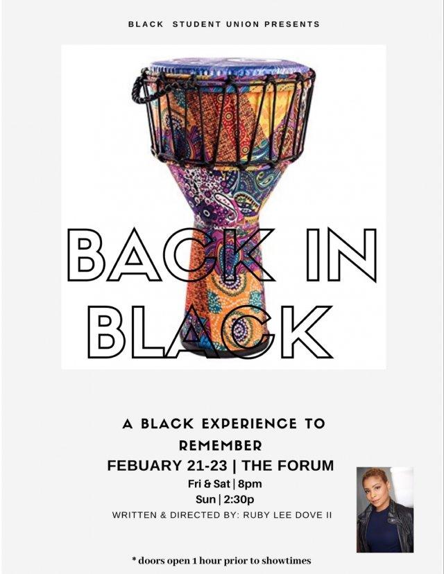 BSU Presents: Back in Black