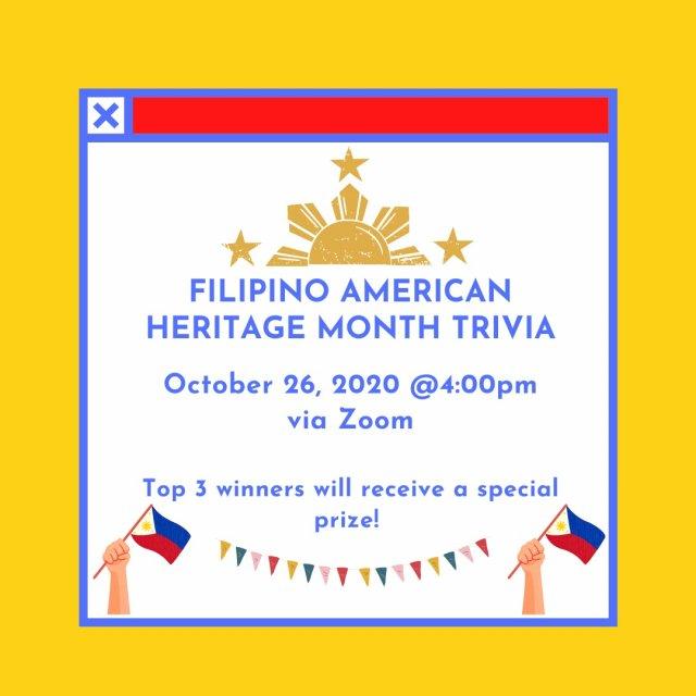 Filipino American Heritage Month program