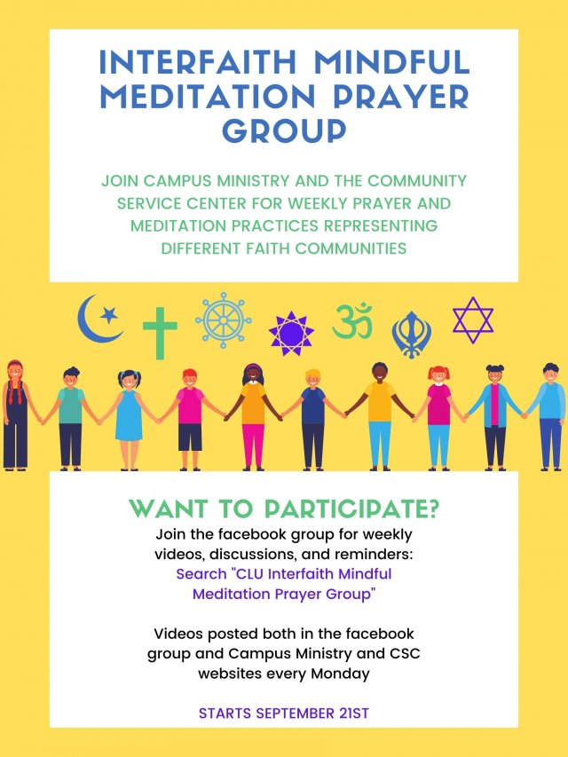 Interfaith Mindful Meditation Prayer Group