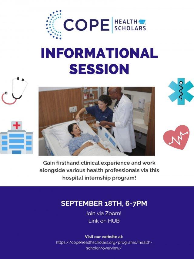 COPE Health Scholars Information Session and Q&A