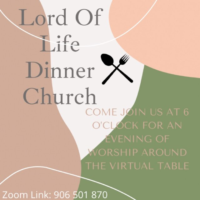 Lord Of Life Dinner Church Service
