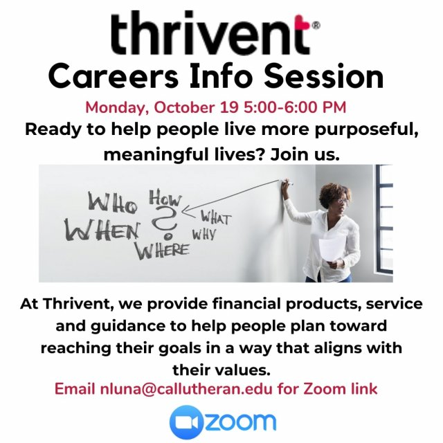 Thrivent Careers Information Session