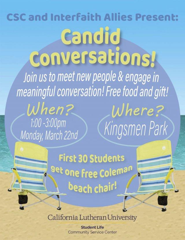 CSC & Interfaith Allies Present: Candid Conversations!