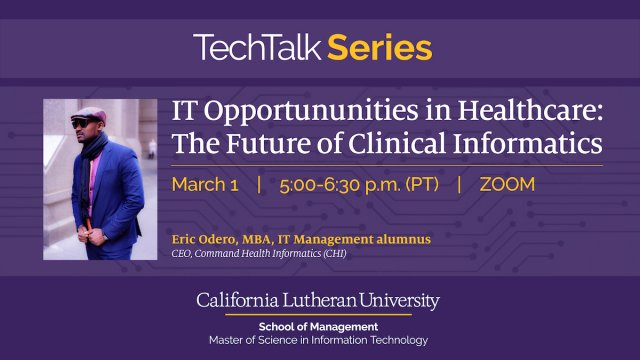 IT Opportunities in Healthcare: The Future of Clinical Informatics