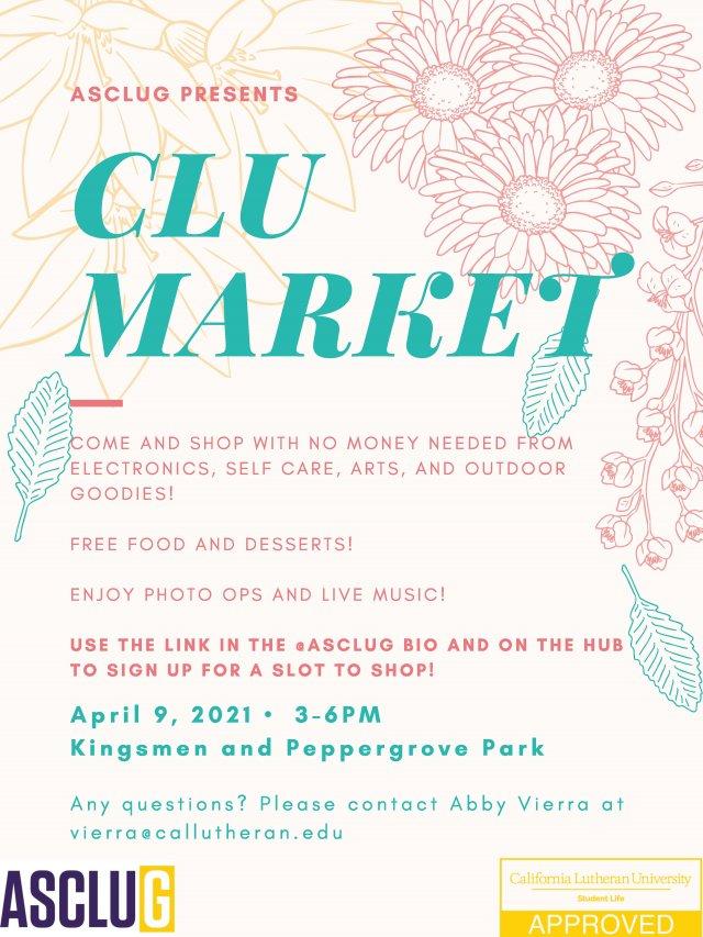ASCLUG Presents: CLU Market