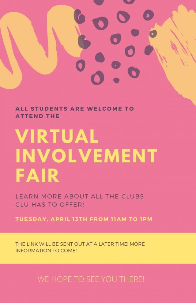 Virtual Involvement Fair