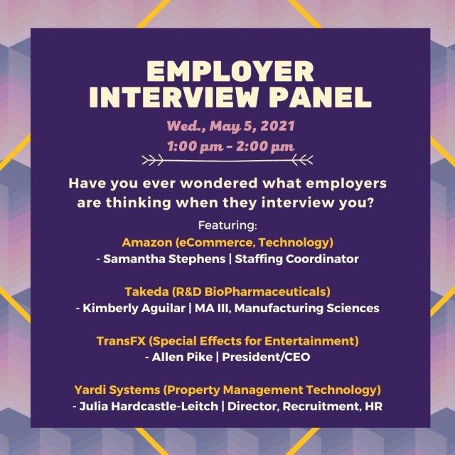 Employer Interview Panel
