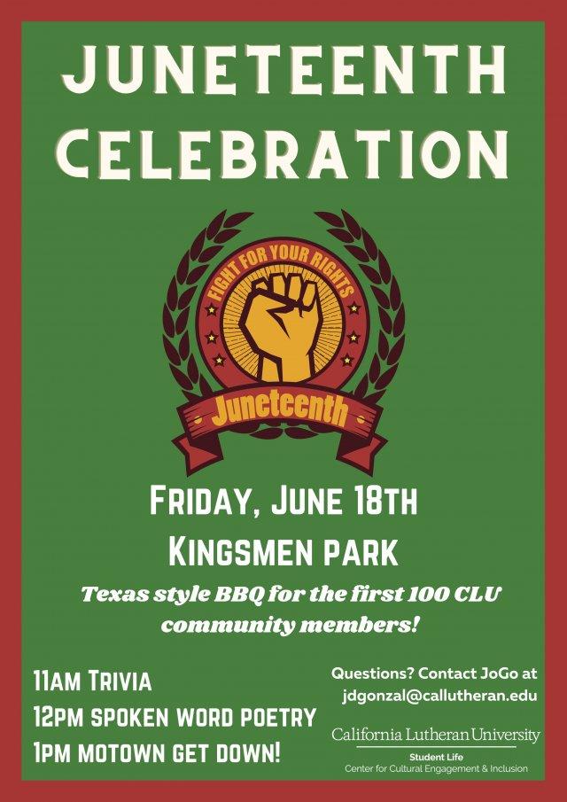 CCEI Juneteenth Celebration