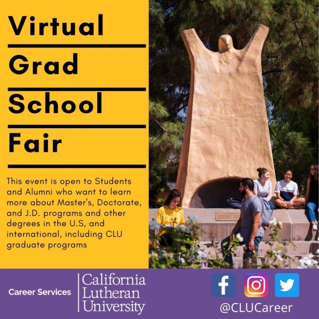 Virtual Grad School Fair