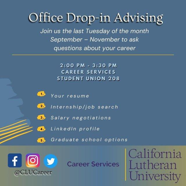 Office Drop-in Advising