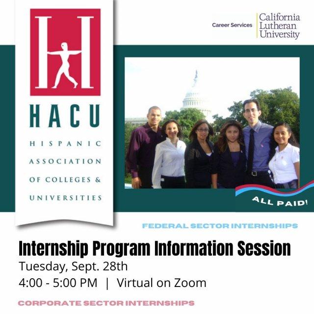 HACU National Internship Program Information Session