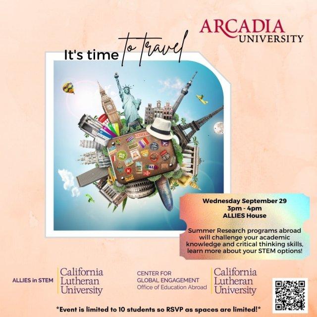 Arcadia University & School for Field Studies