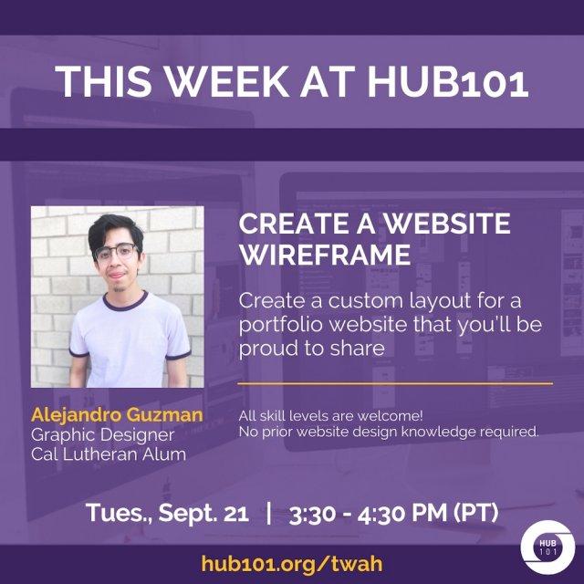 Create a Website Wireframe