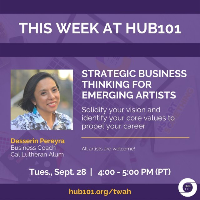 Strategic Business Thinking For Emerging Artists