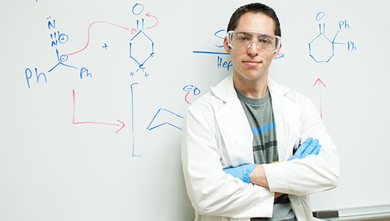 Chemistry major photo of student or faculty