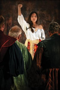 Play recounts revolt by a Spanish village