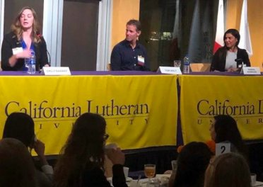 Alumni speak on their pathway toward successful careers
