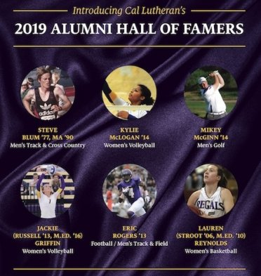 Introducing Cal Lutheran's 2019 Alumni Hall of Fame Class